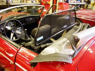 1962-1980 MGB Screen deflector