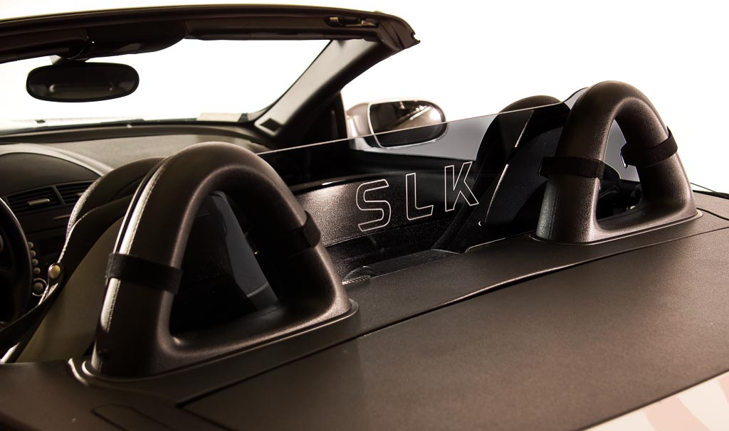 SLK (171) 2004-2011 Wind Polycarbonate Deflector