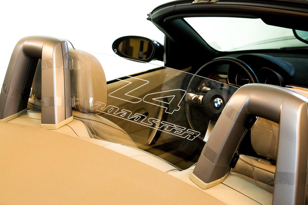 Bmw Z4 2002 2008 Lexan Deflector Bmw Z4 Z4m Convertible