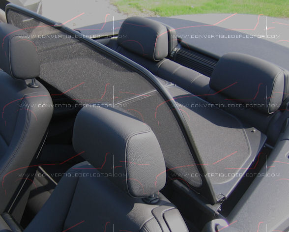 BMW E88 Serie 1 Screen deflector - Click Image to Close